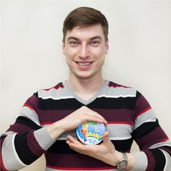 Our team: purchasing and import manager Evgeniy Chernega